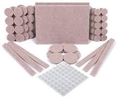 simala premium furniture pads 124 pack 60 heavy duty self stick