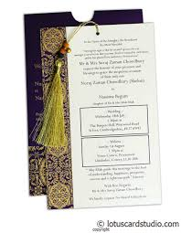 Wedding Invitation Insert Cards Magnificent Indigo Invitation Card With Dori Ic 30