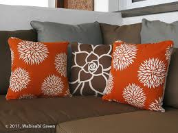 Wabisabi Green Decorative Throw Pillows