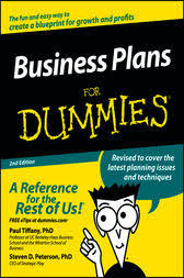 free sample college writing business plan for dummies