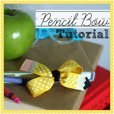 back to school hair bows huckleberry pencil hair bow tutorial 20 back to school