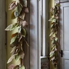 magnolia leaf garland magnolia leaf garland 6 ft southern farmhouse decor ebay