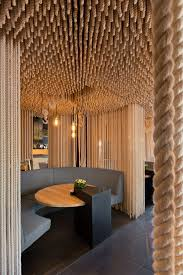 Best Interior Designers San Francisco Divider Concept With Hanging From Ceiling To Floor Best