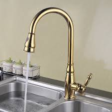 brass tall kitchen faucet with pull down sprayer extra high large