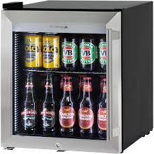 glass door small refrigerator triple glass door bar fridge tropical rated led lighting and lock