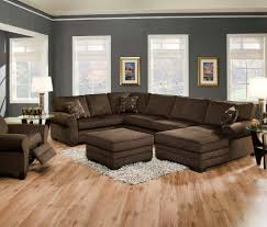 love the wall color trim to go with my brown furniture extreme