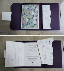 bilingual wedding invitations custom wedding invitation bilingual booklet pocket papercake