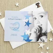 blue personalized birthday invitations for boys birthday star