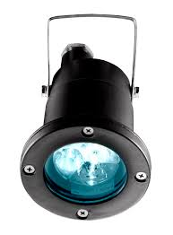 surface mounted spotlight outdoor led round on w