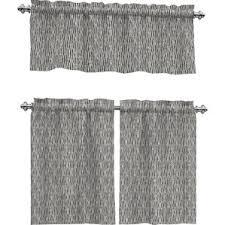 White Valance Modern Valances U0026 Kitchen Curtains Allmodern