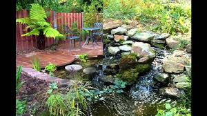 exotic garden ponds and waterfalls designs youtube