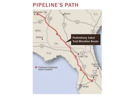 sabal trail pipeline cuts through heart of springs country