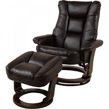 Faux Leather Recliner Lawrence Faux Leather Recliner Chair And Stool Jtf Com Jtf