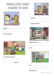 47 free esl garfield worksheets
