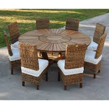Table De Jardin 10 Personnes by Grande Table Ronde De Jardin En Teak Massif Real Table
