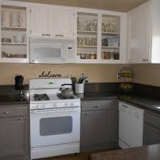 Painted Kitchen Cabinets Before And After by Home Decor Amusing How To Paint Kitchen Cabinets White Images