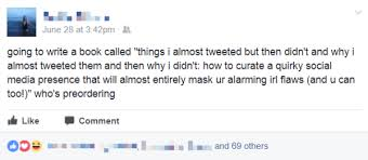 30 status updates that will you up