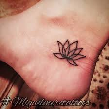 18 simple lotus tattoos pictures