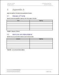 acceptance test report template acceptance test plan software software templates