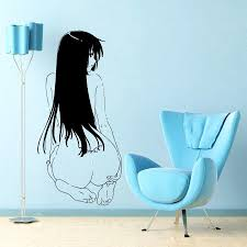 japanese cartoon vinyl wall decal anime manga manga with