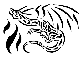 flames tattoo outline dragon flame tattoo design by drawing of