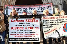 Seeking Free Series Seeking Justice For Birmingham Pub Bombing Families Stages