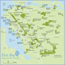 san francisco map east bay experience nature in your own backyards for the the
