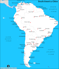 america map cities free south america cities map cities map of south america