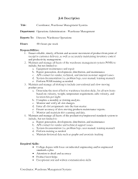 Inventory Resume Essay Inventory Management Specialist Resume Responsibilities Of