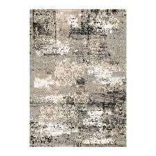 Viera Area Rug Shop Loloi Viera Grey Indoor Distressed Area Rug Common 5 X 8