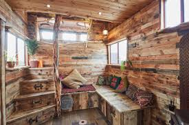 Tiny House Swoon Rustic House Truck Converted From Horsebox Curbed