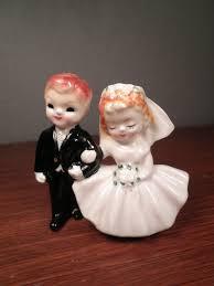 and groom figurines 49 best vintage wedding figurines images on retro