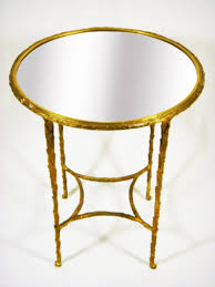 Brass Side Table Brass Side Table Mecox Gardens
