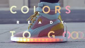 la light up shoes these light up shoes are the flyest kicks we ve seen in a while