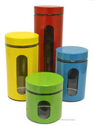 colorful kitchen canisters kitchen canisters