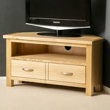 ebay tv cabinets oak london oak corner tv stand plasma tv cabinet solid wood tv unit