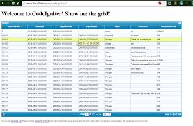 Php Spreadsheet Phpgrid And Codeigniter Integration Phpgrid
