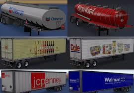truck pack v1 5 american truck simulator mods ats mods real companies u0026 trailers pack v 1 0 american truck simulator