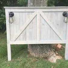 farmhouse queen size headboard furniture makeovers pinterest