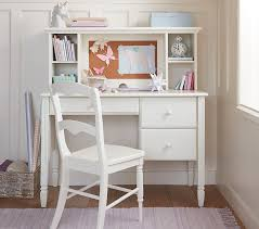 Childrens Desks With Hutch Madeline Storage Desk Hutch Pottery Barn