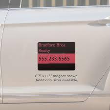 car magnets u0026 magnetic signs vistaprint