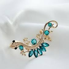 left side earring exquisite alloy and gecko fashion cuff earring for left