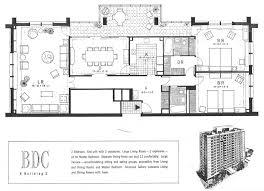 Unit Floor Plans Bratenahl Place Building One Floor Plans Two Bedroom End Unit