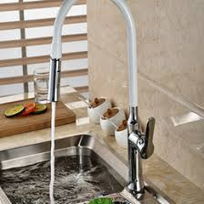 white pull kitchen faucet discount white kitchen faucets pull 2017 white kitchen