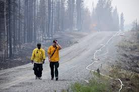 Wildfire Fighting Canada by Alaska Gets Help From Lower 48 States And Canada In Fighting