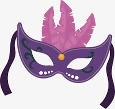 purple mask purple mask vector feather masquerade rope png and vector for