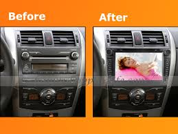 2011 toyota corolla accessories general function oem dvd player toyota corolla 8 inch 800 x 480