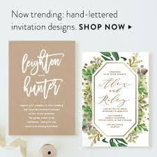 wedding invitation design wedding invitations minted