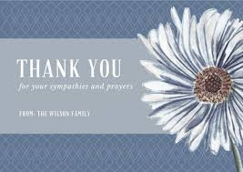 thank you for sympathy card customize 28 funeral thank you card templates online canva