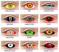 contact lenses special effects lenses